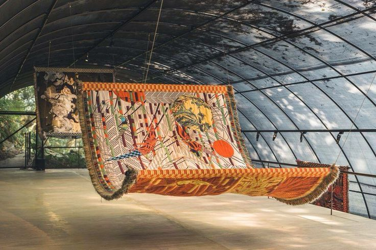 Kustaa Saksi tapestry TextielLab Textielmuseum Tilburg