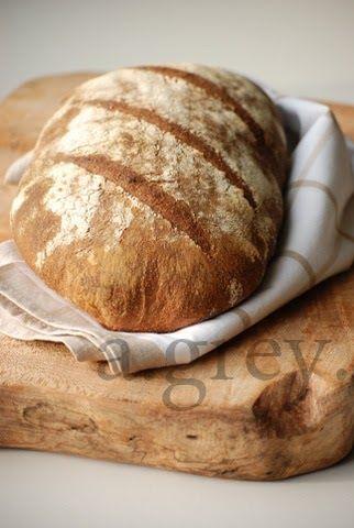 Zaczyn: 50 g aktywnego zakwasu żytniego (dokarmionego 10-12godz. wcześniej) 75 g letniej wody 75 g jasnej mąki żytniej Przygotowani...