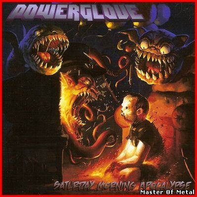 Keep Heavy, Stay Metal !!!: Powerglove - Saturday Morning Apocalypse (2010)