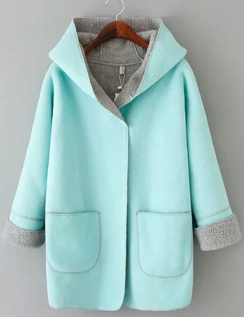 To find out about the Blue Long Sleeve Hooded Pockets Plaid Outerwear at SHEIN, part of our latest Outerwear ready to shop online today! Kids Winter Fashion, Hooded Winter Coat, Winter Wear, Coats For Women, Ideias Fashion, Trends, Fashion Outfits, My Style, Long Sleeve