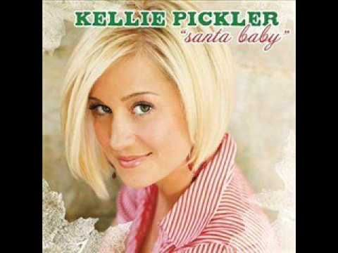 """Kellie Pickler - Santa Baby w Lyrics... I want to redo this was for Paul with a more """"come here lover boy"""" sound just for my honey bunny who think marilyn monroe does it best."""