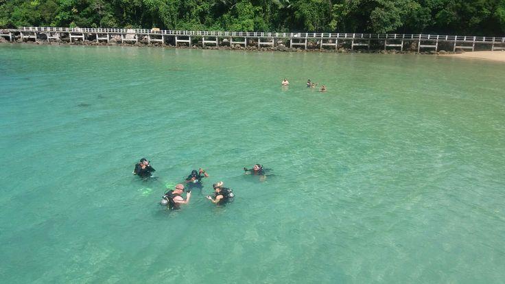Belajar menyelam di Taman Laut Tekek Toman