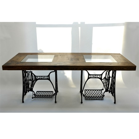 Singer Table    Could Make A Table Like This For Craft Room As Well