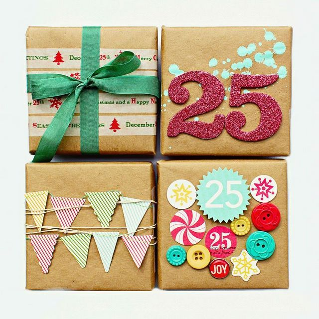 ... Y UN POCO DE DISEÑO: 16 ideas para empaquetar los regalos de Navidad