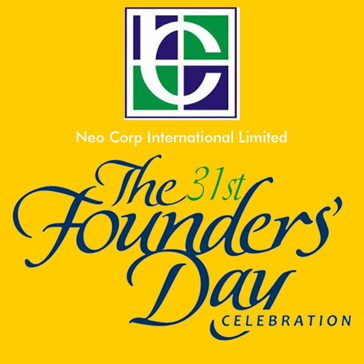#NeoCorp Celebrates 31st annual founders day.. Visit:http://goo.gl/ZaK1Te   #31stfoundersday #NCIL
