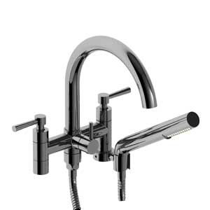 Riobel Pallace Tub Filler with Handshower / Freestanding when used with TU26 Legs