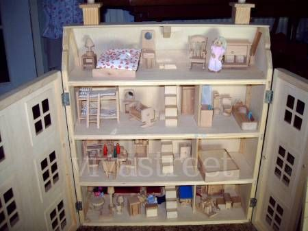Barbie Doll House Plans Wooden - WoodWorking Projects & Plans