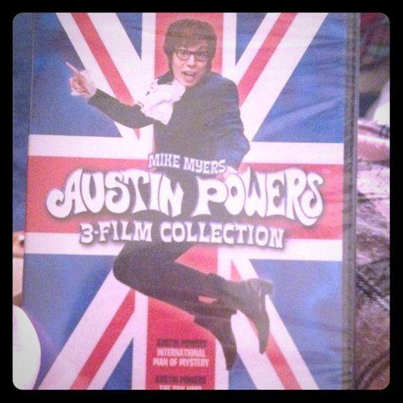 Austin powers 3-film collection Brand new.  Includes: international man of mystery, the spy who snagged me, gold member Other