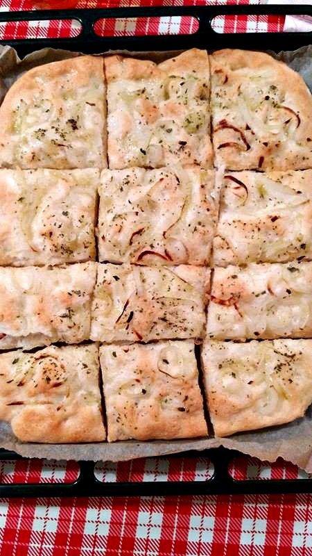 Focaccia di cipolle Bimby senza glutine