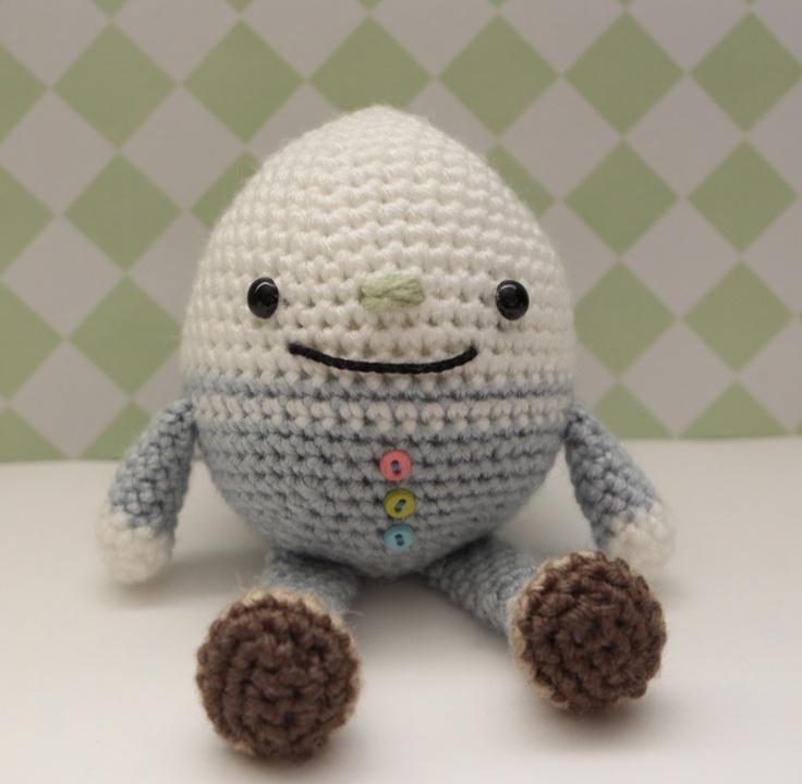 My Humpty Dumpty by Little Muggles crochet doll Pinterest Humpty dumpty...