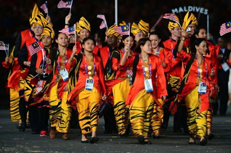 Malaysian Olympic team
