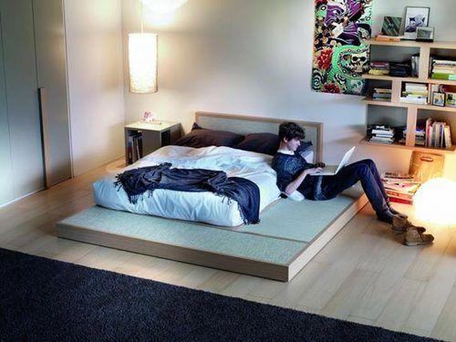 Contemporary Teenage Boy Bedroom