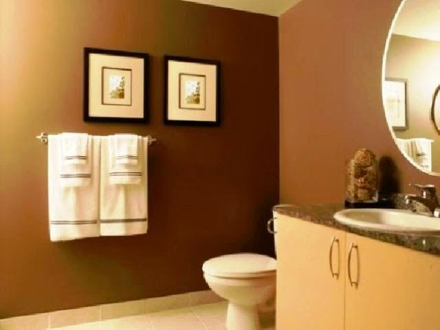 52 best Orange for interior images on Pinterest Home, Projects - small bathroom paint ideas