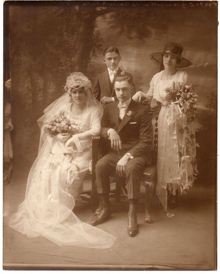 Старинные польские свадебные фото