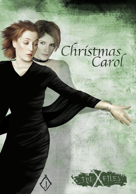 The X-Files 5x05: Christmas Carol - Art by Jared Adams | X-Files ...