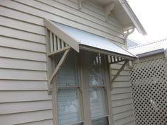 Exterior windows - colourbond shade