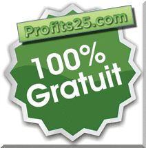 Profits25 100% Gratuit - Capital Affaire