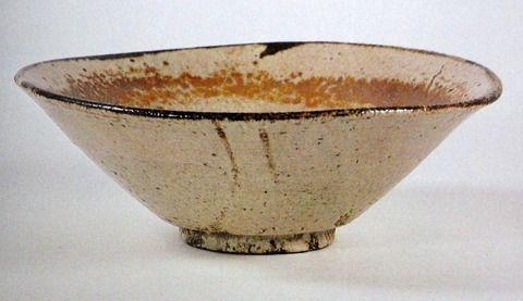 瀬戸唐津皮鯨茶碗 滴翠美術館蔵