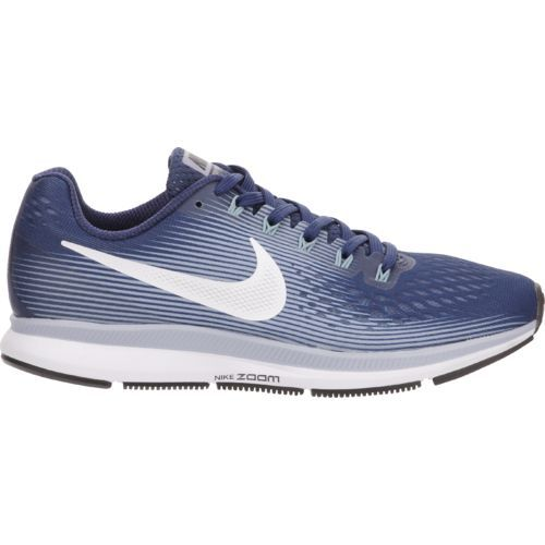 Nike Women's Air Zoom Pegasus 34 Running Shoes (Binary Blue/White/Glacier Grey/Cerulean, Size 9.5) - Women's Running Shoes at Academy Sports