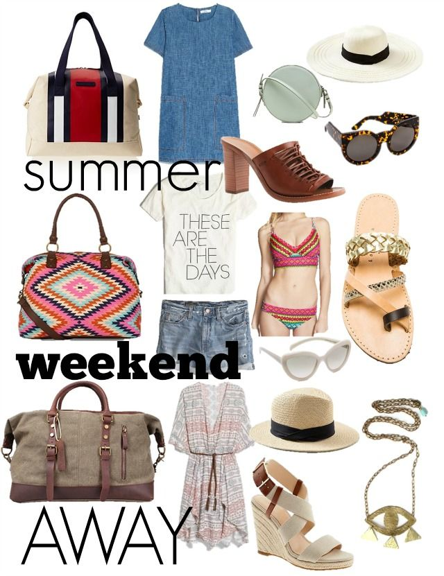 What to pack for a Weekend Trip; Summer Edition – torontoshopoholic