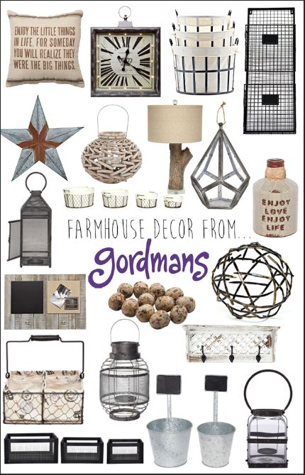 Fantastic Farmhouse Finds! These pieces are all from gordmans, meaning they are a  fraction of the retailer's prices! These items would add a great farmhouse feel to any home! *farm house, fixer upper, joanna gaines inspired, rustic*