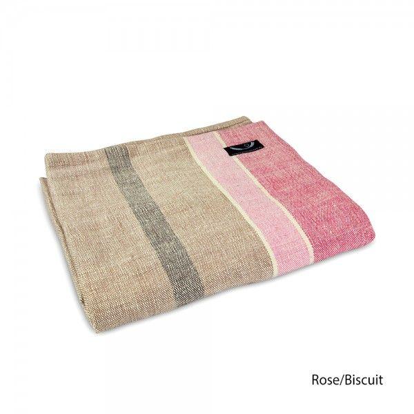 Chambray Yoga Blanket - Organic Cotton