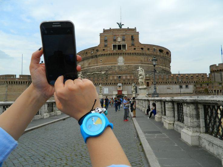 ROMA GEZİSİ: Gezici Günlük'ün bu seferki seyahat arkadaşı VWA Mavi Atop! http://www.AtopTimeZone.com/  http://www.gezicigunluk.com/ #Roma #Gezi #Seyahat #AtopTimeZone @gezici günlük