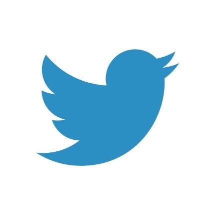 The updated Twitter bird logo
