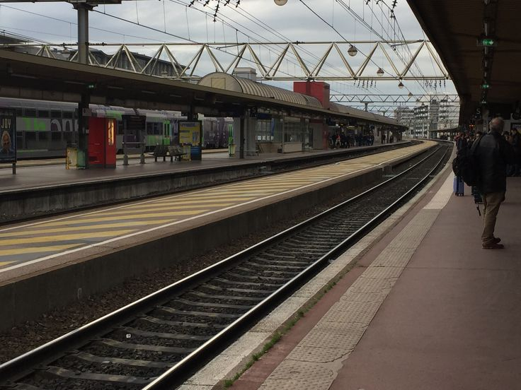Gare Part-Dieu train station Lyon, France
