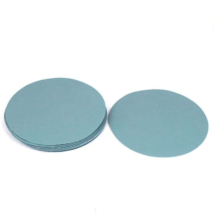"UXCELL 5 ""Dia 5000 Grit Abrasif Putaran Disc Amplas Sanding 10 Pcs Untuk Alat Berosilasi"