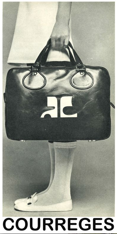 vintage Courrèges sac c. 1960s