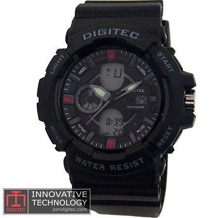 jam tangan digitec DG-2053T hitam