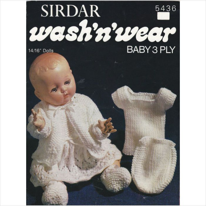 318 Best Knitted Doll Clothes Images On Pinterest Knit Patterns