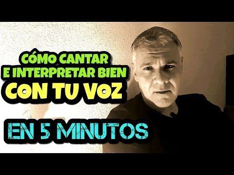COMO CANTAR BIEN EN 5 MINUTOS E INTERPRETAR CON TU VOZ UN TEMA DE PABLO ALBORAN EL BESO - YouTube