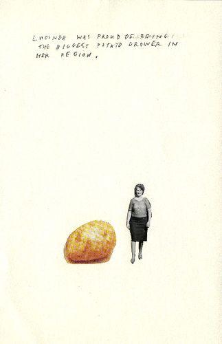 ":: April Gertler, ""Lucinda"" ::  lucinda was proud of being the biggest potato grower in her region"