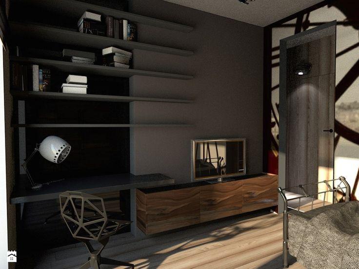 Biuro styl Industrialny - zdjęcie od Nasciturus design - Biuro - Styl Industrialny - Nasciturus design