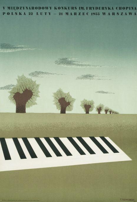 Tadeusz Trepkowski , V Międzynarodowy Konkurs im. Fryderyka Chopina 1954