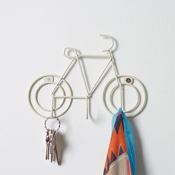 Bicycle Hook - Ivory from Pigeonhole via The Third Row