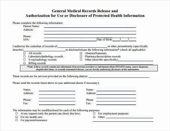 30 Medical Record Forms Template In 2020 Medical Records