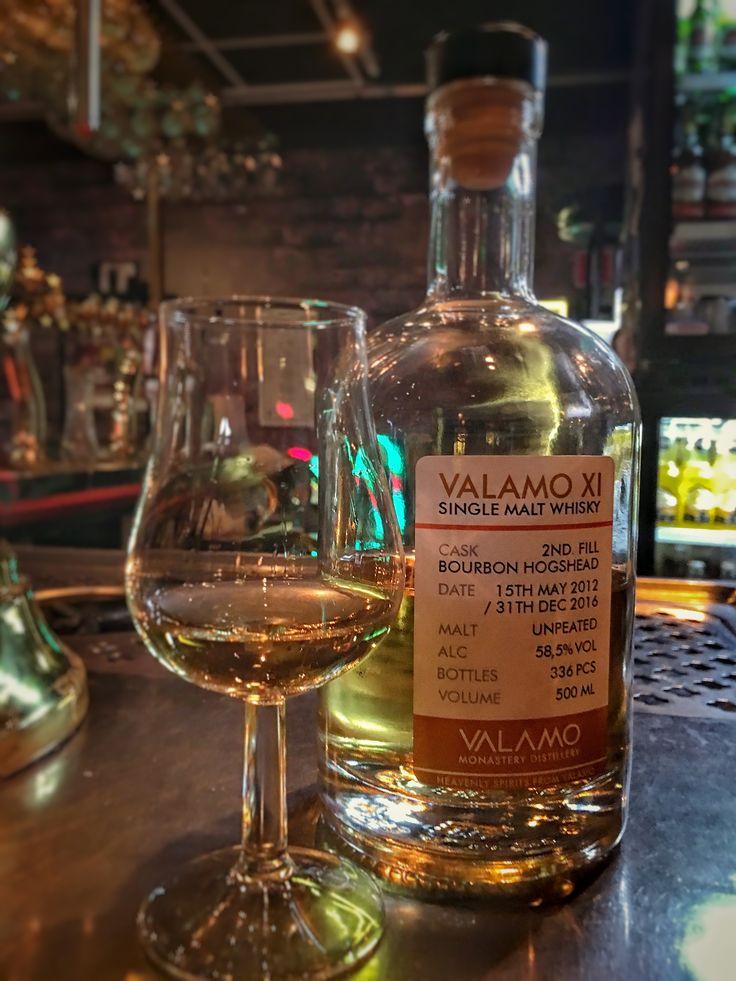 Valamo XI Single Malt Whisky, Monastary Distillery. Heavenly Spirits from Valamo, Heinävesi, Finland