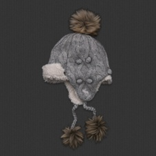 Cute Trapper Hat is perfect for the winter by Abercrombie & Fitch