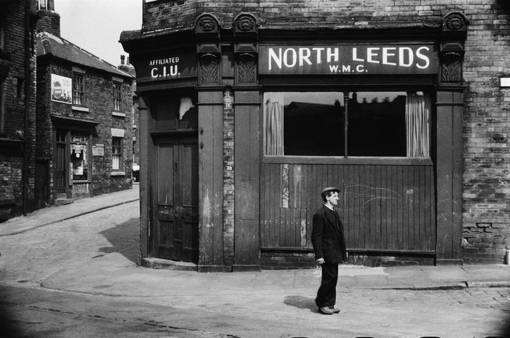 North Leeds Working Men's Club, 1954..Photo by Marc Riboud..Magnum Photos