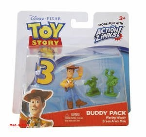 $4.99 Disney / Pixar Toy Story 3 Action Links Mini Figure Buddy 2Pack Waving Woody Green Army Men by Mattel Toys, http://www.amazon.com/dp/B003IT5VDQ/ref=cm_sw_r_pi_dp_J7iXqb0036K56