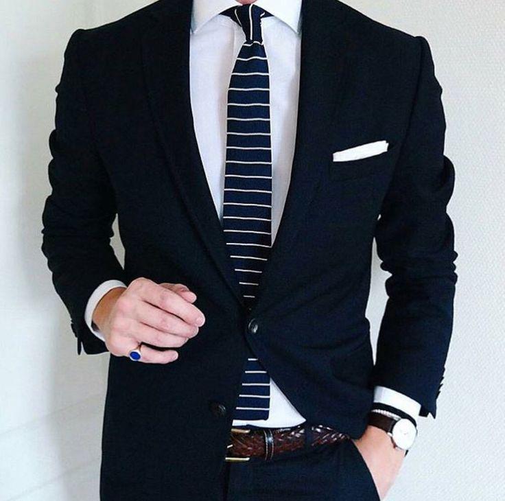 25  best ideas about Black suit combinations on Pinterest | Sharp ...