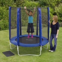 Buy Plum 6ft Trampoline & Enclosure, Blue from our Trampolines range - Tesco.com