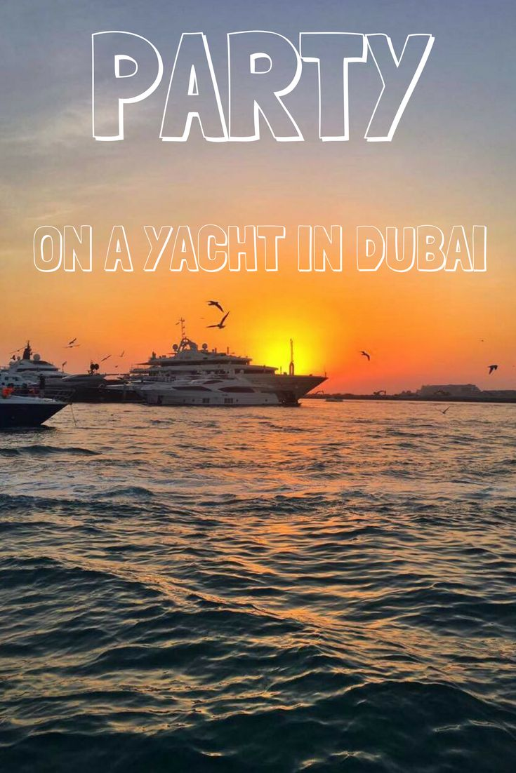 How to plan, book and enjoy the ultimate yacht party in Dubai, as told by a Dubai expat who loves to party.