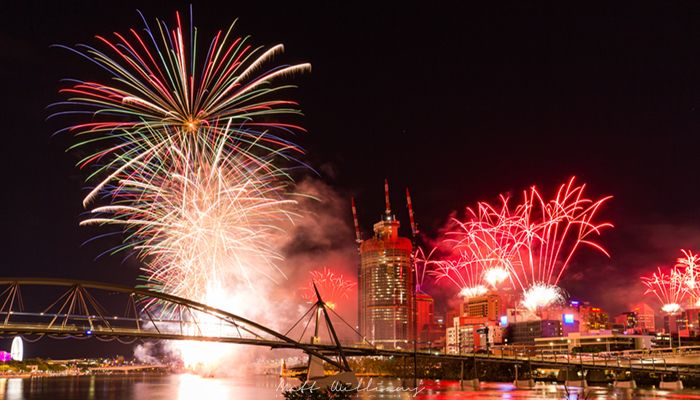 Save money in Brisbane with free fireworks