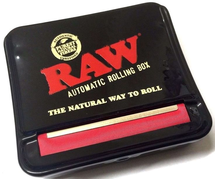 GENUINE RAW AUTOMATIC TOBACCO CIGARETTE ROLLING MACHINE STRONG METAL BOX TIN. This is an Original Genuine RAW Rolling Tin. I understand from time to time you may not be happy with your item. Automatic Cigarette Rolling Machine.   eBay!