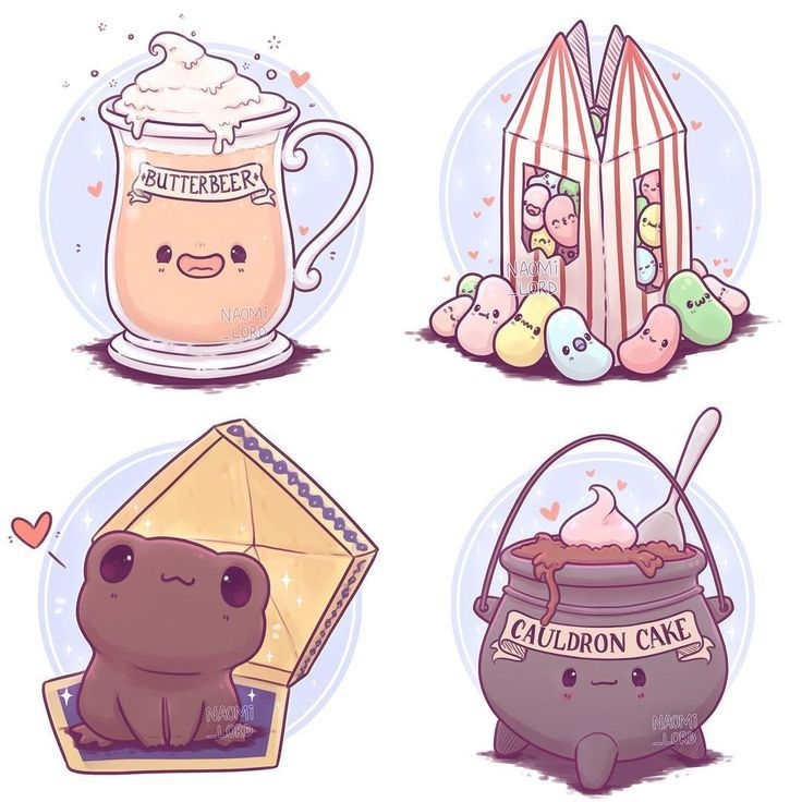 🍬 I had a bunch of fun working on this Harry Potter food and drink series! …