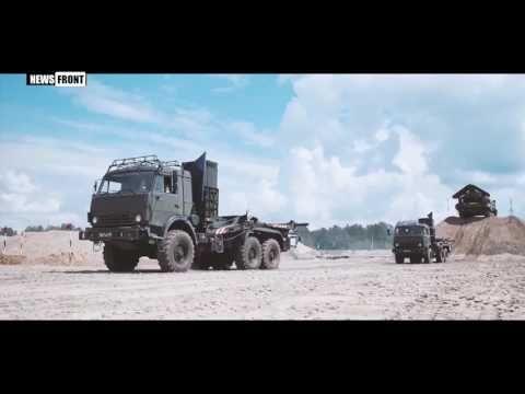 Яркие моменты Всеармейского этапа конкурса «Безопасный маршрут 2017» в рамках АР - YouTube